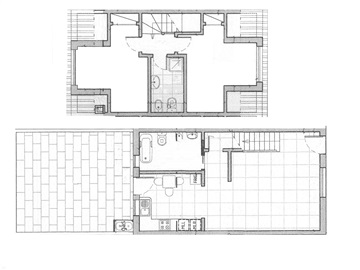 Terraced house T2 / Peniche, Ferrel